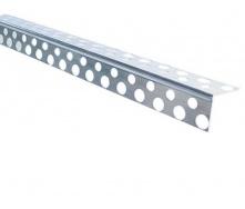 Угол перфорированный алюминиевый 2500 мм