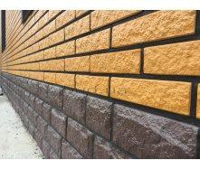 Цокольная плитка с утеплителем Rocky Дикий камень 1000x500 мм