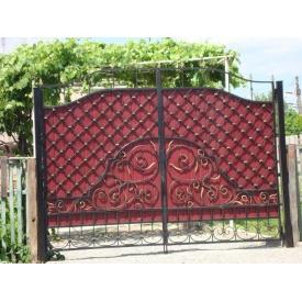 Распашные ворота решетчатые 2х3 м