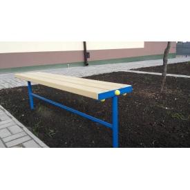 Скамейка без спинки 1 м