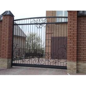 Откатные ворота решетчатые 2х3 м