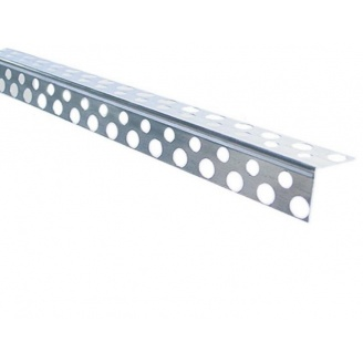 Угол перфорированный алюминиевый 3000 мм
