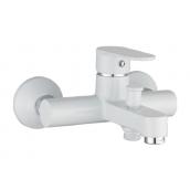 Смеситель для ванны IMPRESE LESNA 35 мм белый (10070W)