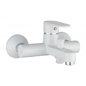 Змішувач для ванни IMPRESE LESNA 35 мм білий (10070W)