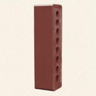 Лицевой кирпич Белоцерковский половинка М250 250x60x65 мм вишневый
