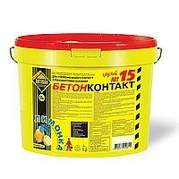 Грунтовка Артисан Бетоконтакт 15 7,5 кг