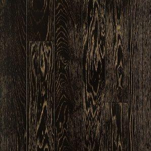 Паркетна дошка DeGross Дуб чорний з золотом протертий 1200х100х15 мм