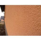 """Оздоблення фасаду будинку штукатуркою """"Баранець"""" 50мм"""