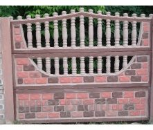 Комплект Євро Бетонний паркан 8