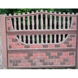 Комплект Евро Бетонный забор 8