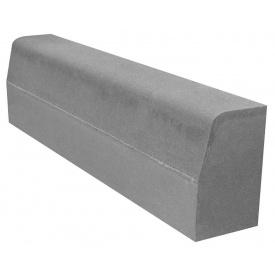 Бордюр дорожный серый 1000х150х300 мм
