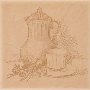 Плитка декоративна АТЕМ Imola Tea B 100х100 мм
