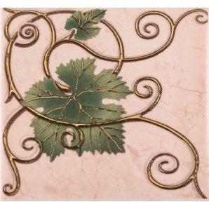 Плитка декоративна АТЕМ Imola Grape 2 Leaf 100х100 мм