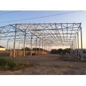 Монтаж металлоконструкций для строительства производственных помещений