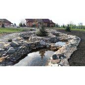 Пристрої декоративного водоспаду на ділянці