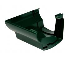 Угол желоба 90° внешний Nicoll 28 OVATION 125 мм зеленый