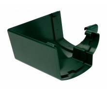 Угол желоба 90° внутренний Nicoll 28 OVATION 125 мм зеленый