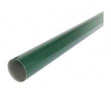 Труба водосточная с муфтой Nicoll 80 мм зеленый