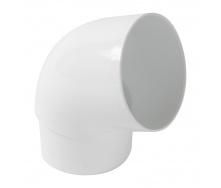 Отвод Nicoll 33 67° 100 мм белый
