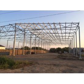 Монтаж металоконструкцій для будівництва виробничих приміщень