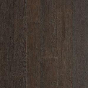 Паркетна дошка DeGross Дуб чорний з бордо браш 500х100х15 мм