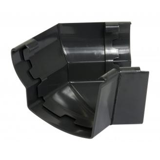 Угол желоба 135° внешний Nicoll 28 OVATION 125 мм темно-серый