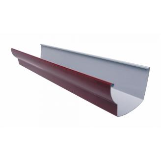 Желоб водосточный Nicoll 28 OVATION 125 мм красный