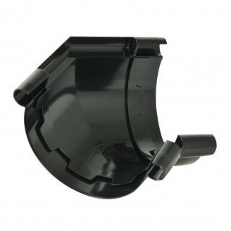 Угол желоба 135° Nicoll 25 ПРЕМИУМ 115 мм черный