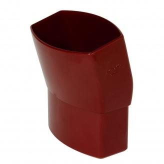 Отвод Nicoll 28 OVATION 15° 80 мм красный
