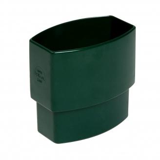 Муфта трубы Nicoll 28 OVATION зеленый