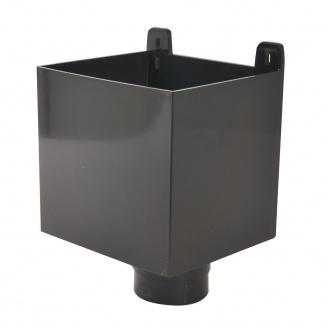 Воронка ливнеприемная Nicoll 25 ПРЕМИУМ 80 мм темно-серый