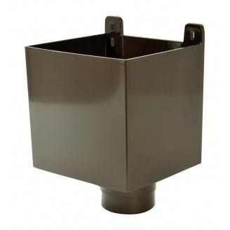 Воронка ливнеприемная Nicoll 33 100 мм коричневий