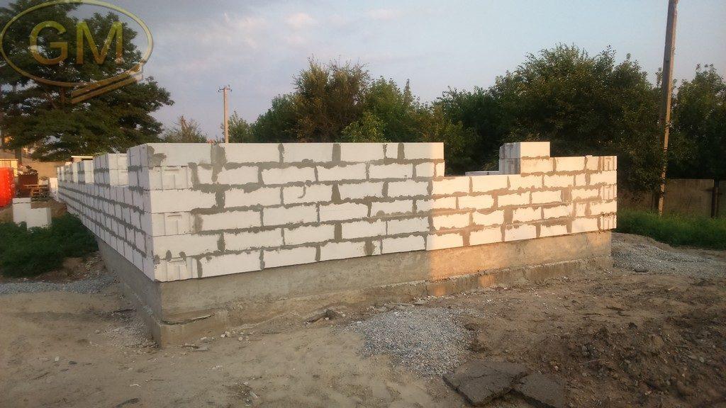 Будівництво з газобетонних блоків