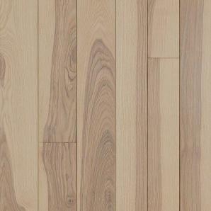 Паркетна дошка DeGross Ясен браш строкатий білий 547х100х15 мм