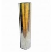 Труба дымохода Теплодар из нержавеющей стали 120 мм 1 м