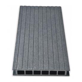 Террасная доска Gamrat брашированная 25х160х2400 мм графит