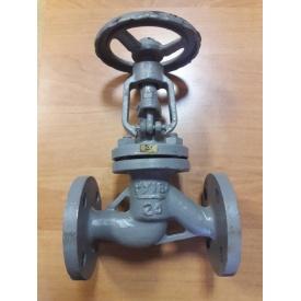 Вентиль стальной фланцевый 15с65нж Ду80 Ру16