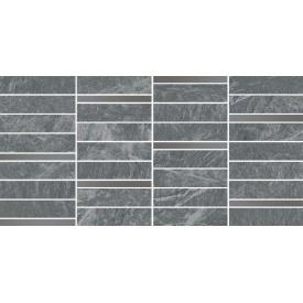 Плитка Opoczno Yakara grey mosaic steel 22,2x44,6 см