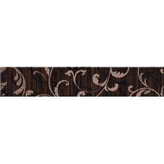 Декор Opoczno Zebrano brown border ornament 54х300 мм