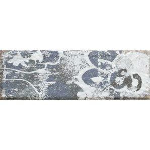 Плитка декоративна Paradyz Rondoni Blue Inserto Struktura A 98х298х7 мм