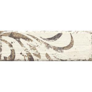 Плитка декоративна Paradyz Rondoni Bianco Inserto Struktura B 98х298х7 мм