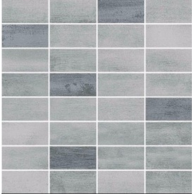 Плитка Opoczno Floorwood grey-graphite mix mosaic 29х29,5 см