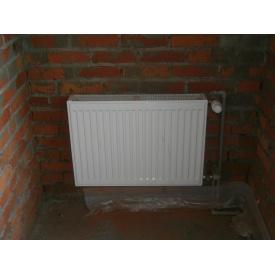 Монтаж радиаторов для отопления