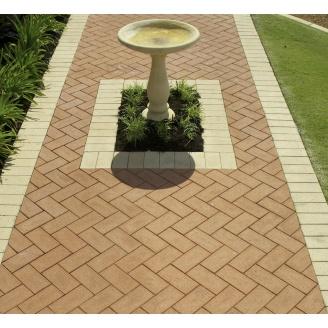 Укладка клинкерной тротуарной плитки
