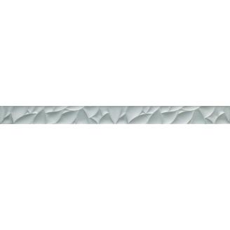 Фриз Paradyz Esten Silver скляний 48х595х8 мм