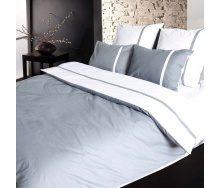 Комплект постельного белья ТЕП 982 Дуэт серый Полуторный бязь 215х150 см