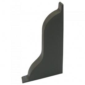 Заглушка права Оміс 52х49 мм сірий