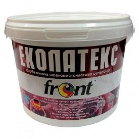 Краска водоэмульсионная Эколатекс Фронт 3 кг