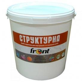 Краска водоэмульсионная структурная Фронт 25 кг