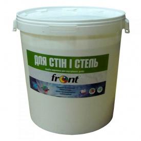 Краска водоэмульсионная для стен и потолка Фронт 40 кг